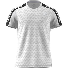 adidas OWN The Run Kurzarm T-Shirt Herren white/black/white